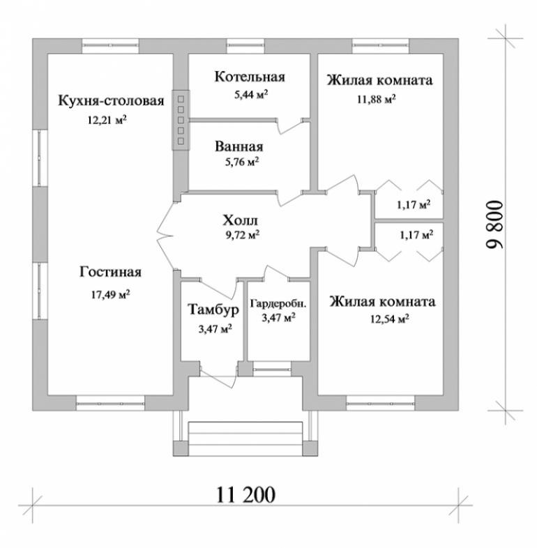 Строительство дома в Ростове, цена