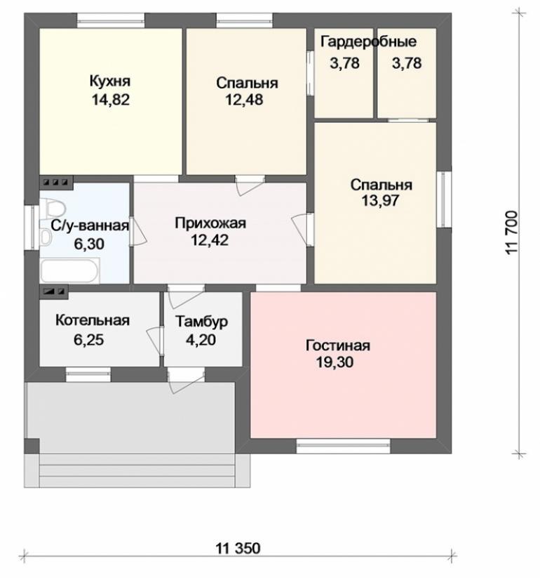 Строительство дома под ключ в Ростове-на-Дону
