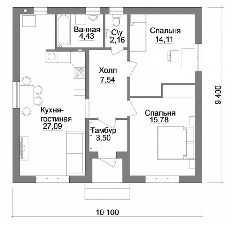 Строительство дома не дорого