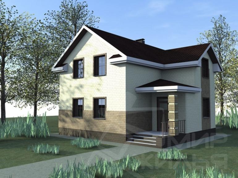 Проект частного дома №179-164