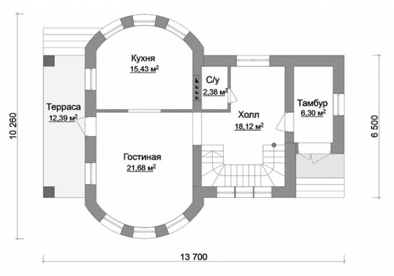 План дома под строительство