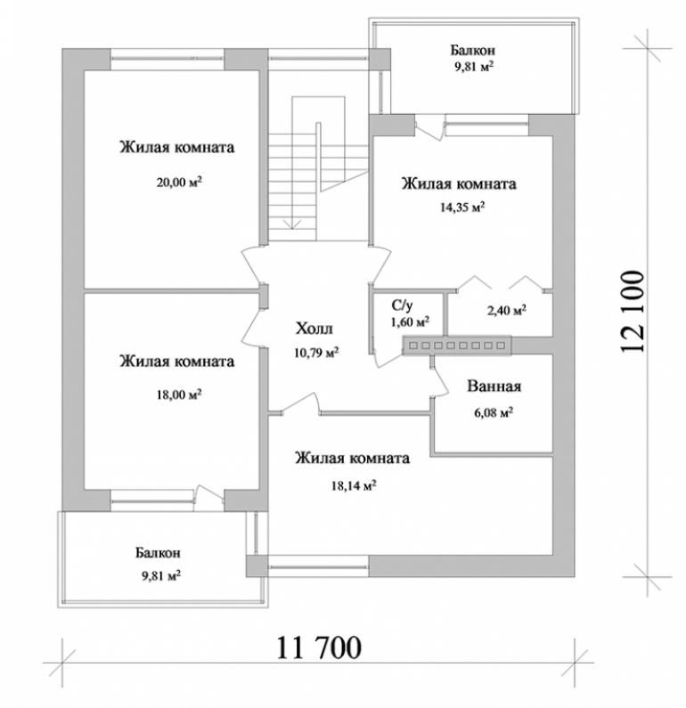 Проект большого дома №269-225