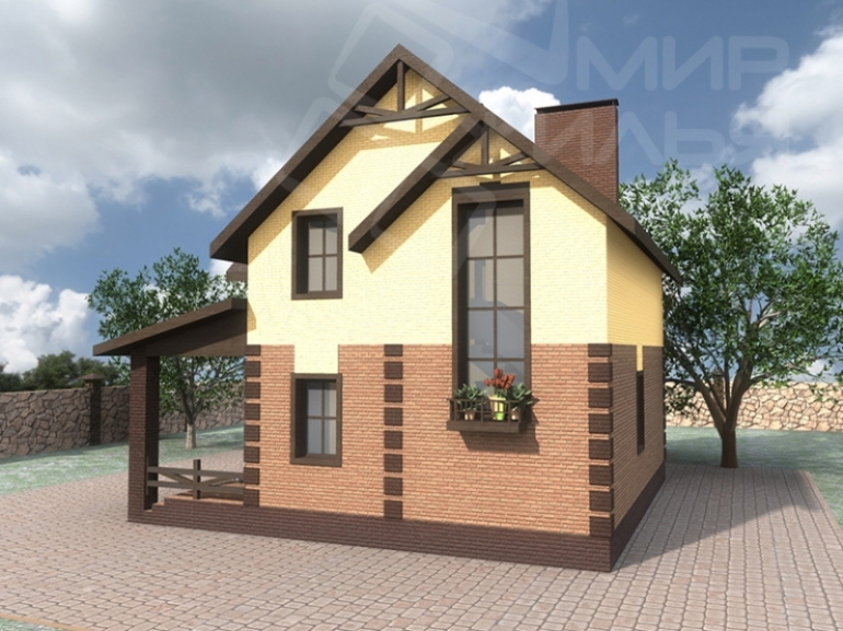 Проект дома №131-121