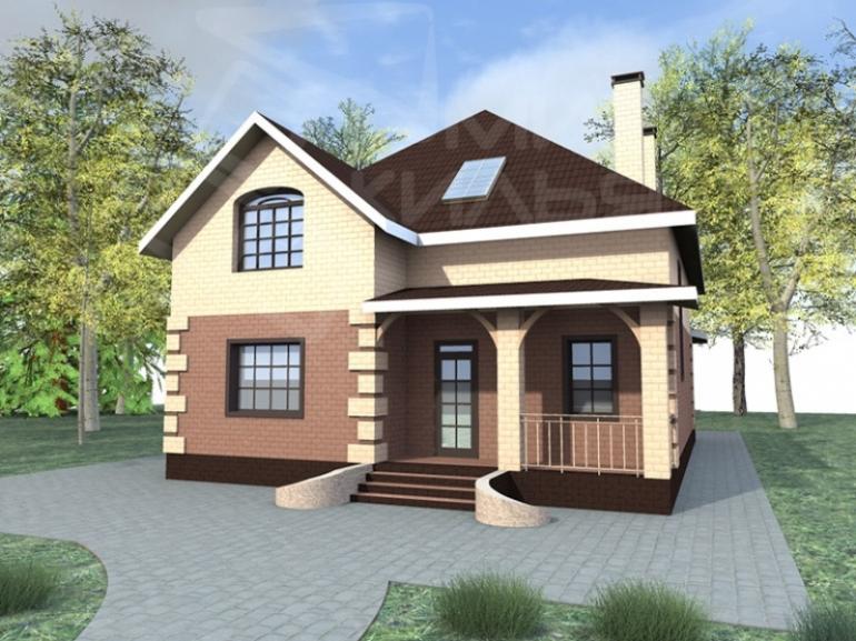 Проект частного дома под ключ