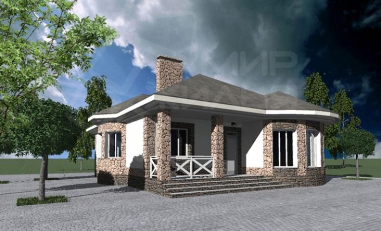 роект индивидуального жилого дома под строительство