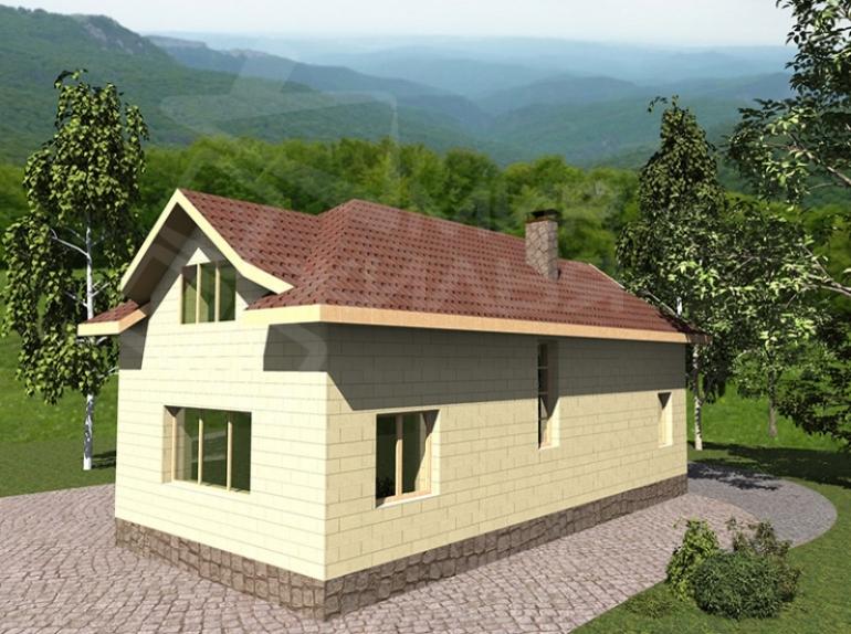 Проект дома №142-125