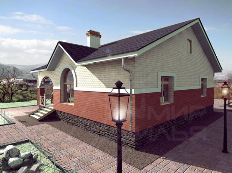 Проект дома 10х10 с отличной планировкой