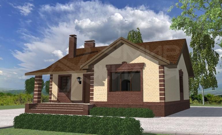 Строительство дома под ключ в Ростове-на-Дону №50-107
