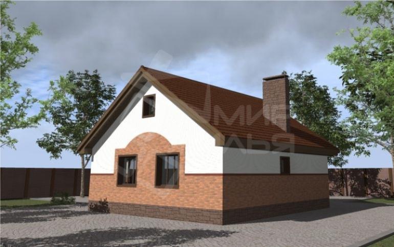 Проект дома №95-89