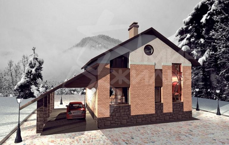 Проект частного дома №244-107