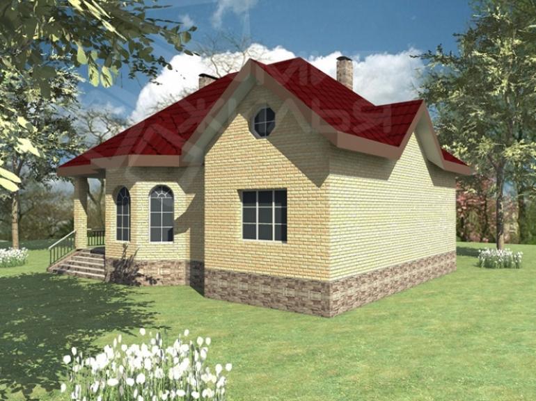 Проект двухэтажного дома под ключ №263-200