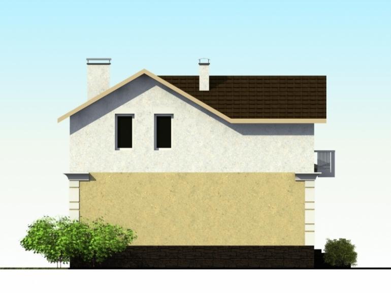 Проект двухэтажного дома №139-122