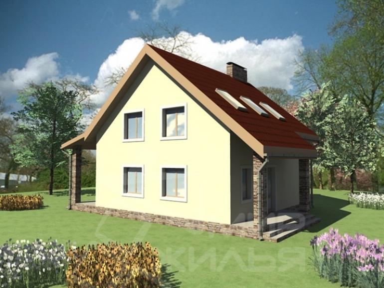 Проект двухэтажного дома под ключ №185-175