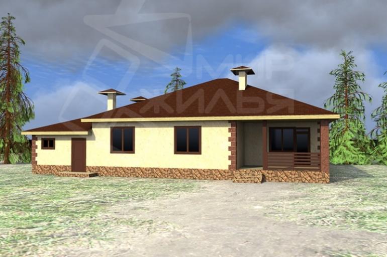 Проект большого дома №225-209