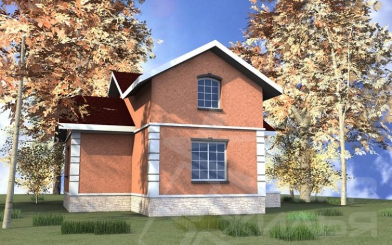 Проект двухэтажного дома №248-99