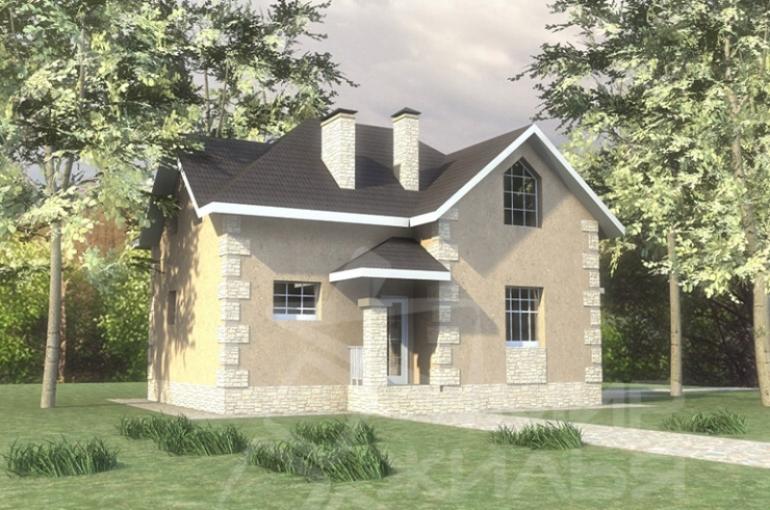 Проект дома под ключ №141-125