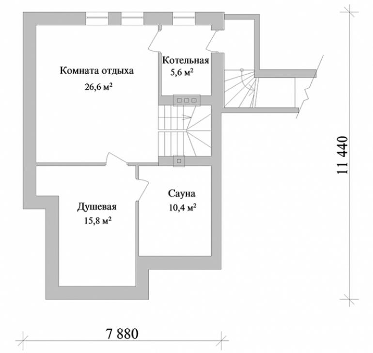 Проект частного дома №98-212