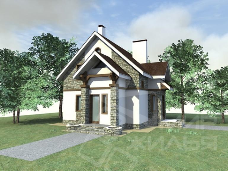 Проект двухэтажного дома под строительство