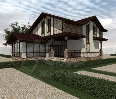 Проект двухэтажного дома под ключ
