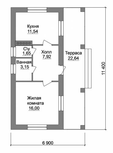 Частный дом под ключ