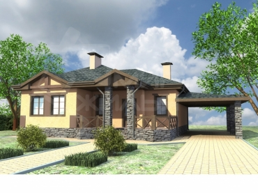 Построить дом цена 2590т.р. №65-112