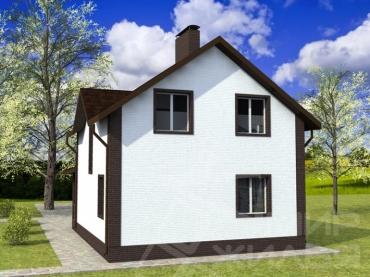 Проект дома под ключ №128-109