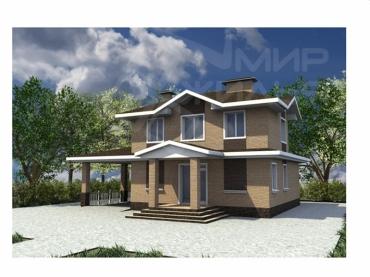 Проект дома под ключ №241-103