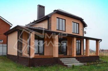 Строительство двухэтажного дома под ключ №21-142