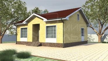 Строительство дома не дорого №44-77