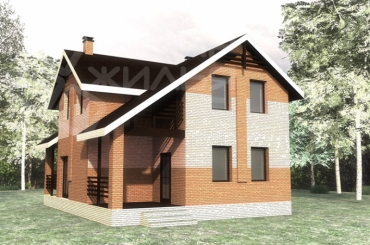 Проект дома №134-126