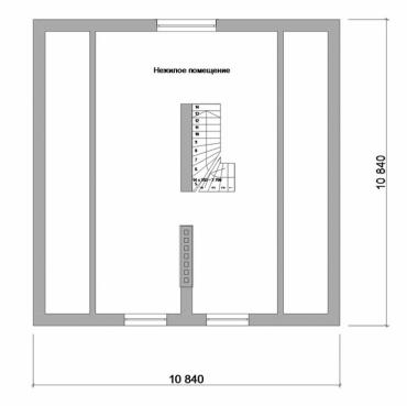 Проект дома на две семьи №190-141