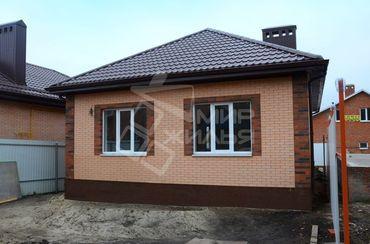 Одноэтажный загородный частный дом, построенный под ключ, площадью 69 кв. м №26-69