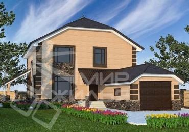 Частный дом строительство №43-228