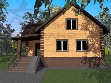 Строительство дома в Ростове №397-148