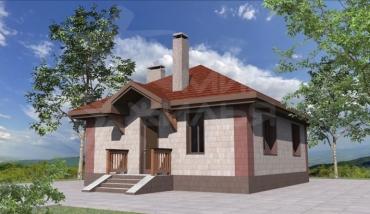 Строительство одноэтажного дома в Ростове-на-Дону №46-58