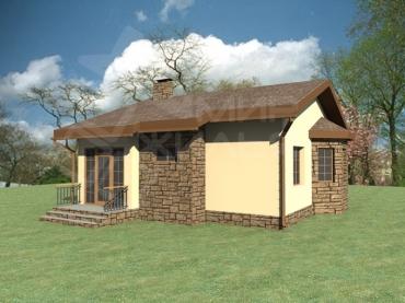 Одноэтажный дом строительство