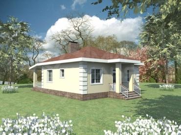 Строительство дома проект и цена №40-78