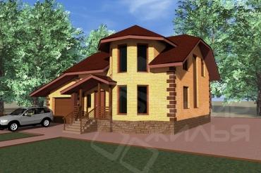 Проект частного дома №99-212