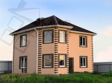 Построить дом в Ростове, проект № 348-141.