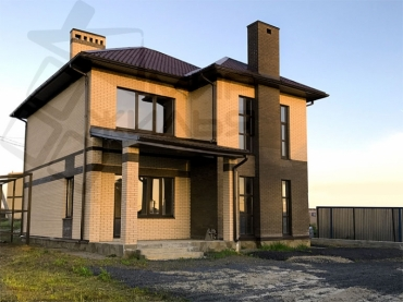 Строительство частного дома № 357-200.