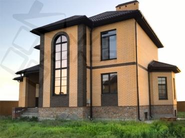 Строительство дома № 361-210.