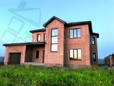 Построить дом под ключ № 362-158.