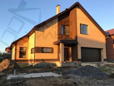 Проект под строительство дома в Ростове-на-Дону № 356-215