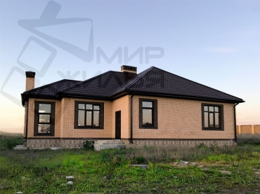 Строительство дома из газобетона № 369-105.