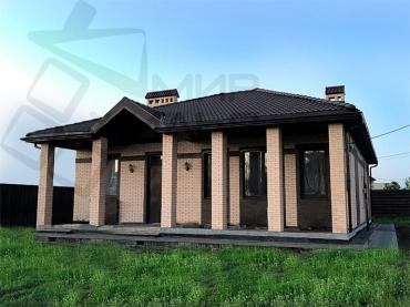 Строительство кирпичного дома под ключ № 372-98.