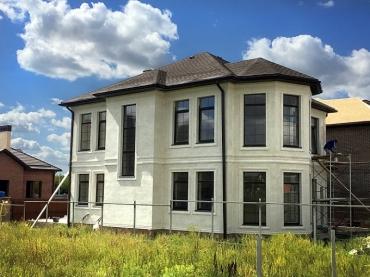 Строительство дома под ключ проект №56-255