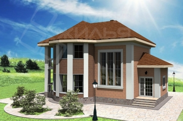Проект дома под строительство №172-143
