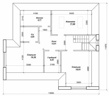 Проект дом строительство