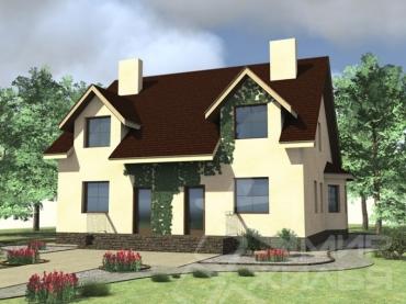 Дом на две семьи №329-220