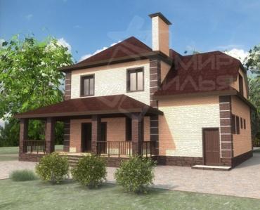 Строительство двухэтажного дома по проекту